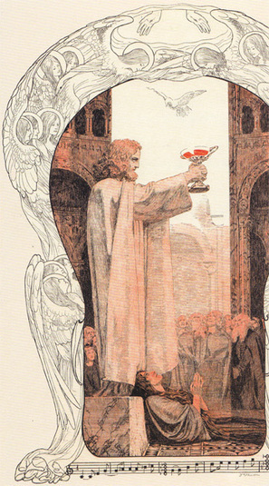 Two visions of the end in Wagner's Parsifal   OUPblog   WAGNER   Scoop.it
