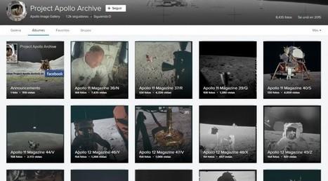 NASA publica más de 8.000 fotos en alta resolución de sus misiones a la Luna | LabTIC - Tecnología y Educación | Scoop.it