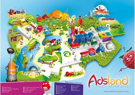 Bientôt un parc à thème dédié à la publicité construit en France - vusurleweb.fr | Marketing et  TPE | Scoop.it