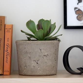 DIY : des pots so déco en ciment... | DIY | Scoop.it