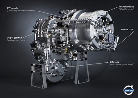 Volvo hybrid drive: 60,000 rpm flywheel, 25% boost to mpg | ExtremeTech | Sci-Tech News | Scoop.it