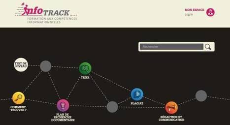 InfoTrack. Formation en ligne aux compétences informationnelles – Les Outils Tice | Les outils du Web 2.0 | Scoop.it