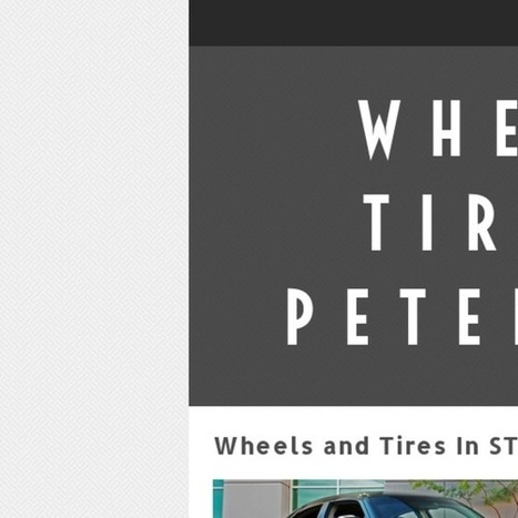 Wheels and Tires In ST Petersburg FL | Wheels and Tires | Scoop.it
