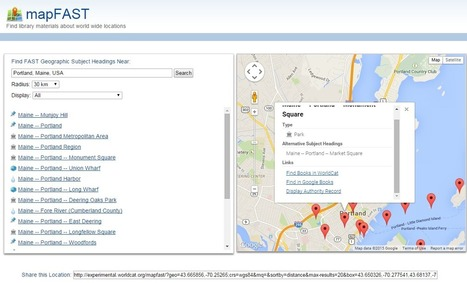 MapFAST - Search for Books By Location | Storytelling in the 21st Century | Scoop.it