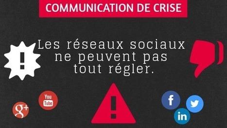 Communication de crise : Les réseaux sociaux ne peuvent pas tout régler | le 2.0 à mon service | Scoop.it
