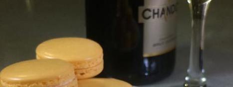 Pâtisserie : Macarons au Champagne - meltyFood | Actualités oenologie et gastronomie en Champagne | Scoop.it