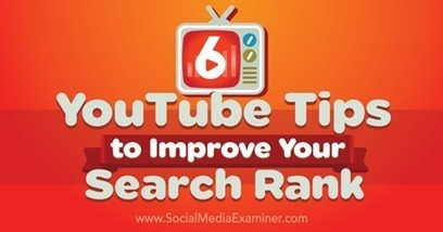 6 YouTube Tips to Improve Your Search Rank | Social Media Video | Scoop.it