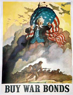 Vintage Ads - WW2 Posters - Part 1 - War Bonds & Stamps | WW2 Bomber - Nose Art | Scoop.it
