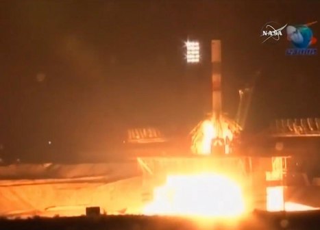 Problem Occurs During Launch of Soyuz Progress 65 Resupply Mission to the ISS - SpaceRef | New Space | Scoop.it