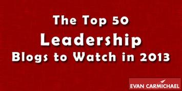 The Top 50 Leadership Blogs to Watch in 2013 - Entrepreneur Blog   Coaching Leaders   Scoop.it