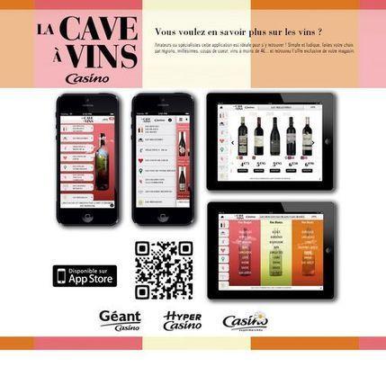 Pour sa Foire aux vins 2013 Casino lance une application dédiée | Vin 2.0 | Scoop.it