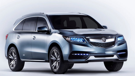 2014 acura mdx | high definition cars wallpapers | Scoop.it