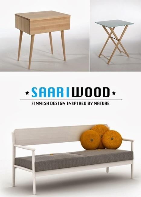 Happy Interior Blog: Scandinavian Simplicity: Saariwood Furniture | Interior Design & Decoration | Scoop.it