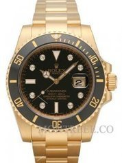 Rolex Submariner Date Jaune or noir Dial [116618LN] | Tag heuer watches Replica,fake watches uk | Scoop.it