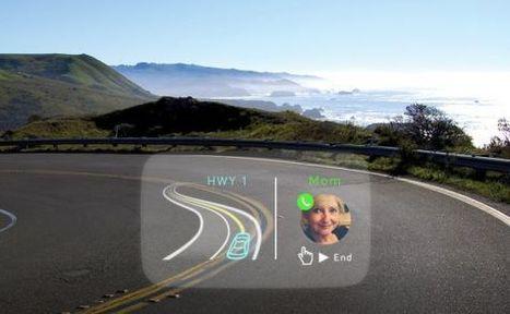 Nuevas pantallas. Emails, mapas y Facebook sobre el parabrisas de tu coche | LabTIC - Tecnología y Educación | Scoop.it