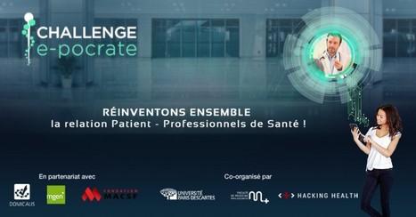 Lancement du challenge E-pocrate ! - Buzz-esanté | Santé Connectée | Scoop.it