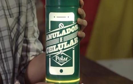 Polar : la bière hitech qui déconnecte les smartphones ! | Bière | Scoop.it