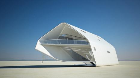 Un véritable chef d'œuvre en matière d'habitat futuriste : la « California Roll » | Architecture à travers le monde | Scoop.it