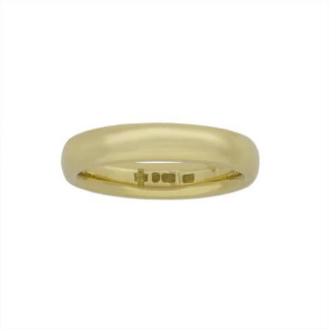 A CLASSIC 18CT YELLOW GOLD 3.5MM WEDDING BAND - Bentley & Skinner | Bentley And Skinner | Scoop.it