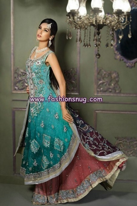 Amna Ajmal Bridal Lehanga Collection 2013 | Fashion Blog | Scoop.it