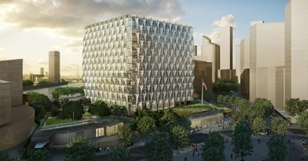 KieranTimberlake's U.S. Embassy in London celebrates groundbreaking | retail and design | Scoop.it