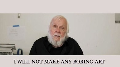 John Baldessari - I Like the Idea of Aerial Advertising... | Photography Now | Scoop.it