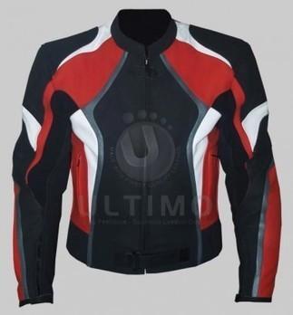 Black Red Stylish Biker Jacket   You like leather jackets since nobody ignored it   Scoop.it