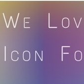 We Love Icon Fonts | Logiciel & matériel libre | Scoop.it