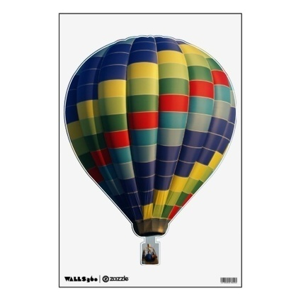 Sold Two Hot Air Balloon Wall Decals | The Zazzle Usere's Group Forum | Scoop.it
