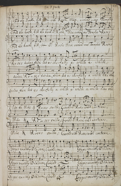 Music manuscripts from the 17th and 18th centuries in the British Library | The Public Domain Review | IELTS, ESP and CALL | Scoop.it