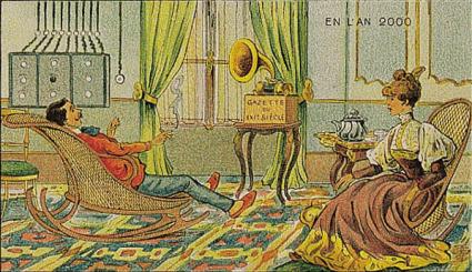 Imaginer l'an 2000 en 1900 - MyHeritage.fr - Blog francophone   GenealoNet   Scoop.it