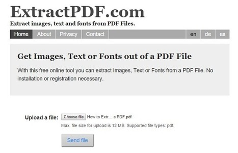 8 Things You Didn't Know You Could Do with a PDF | Lund's K-12 Technology Integration | Scoop.it