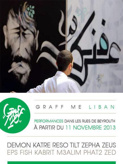 Liban: GraffMe @ Beyrouth | Rap , RNB , culture urbaine et buzz | Scoop.it