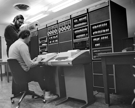 Dennis Ritchie: The Shoulders Steve Jobs Stood On | Creating the Future | Scoop.it
