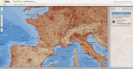 MapMaker Interactive. Créer des cartes en ligne | marque-page | Scoop.it
