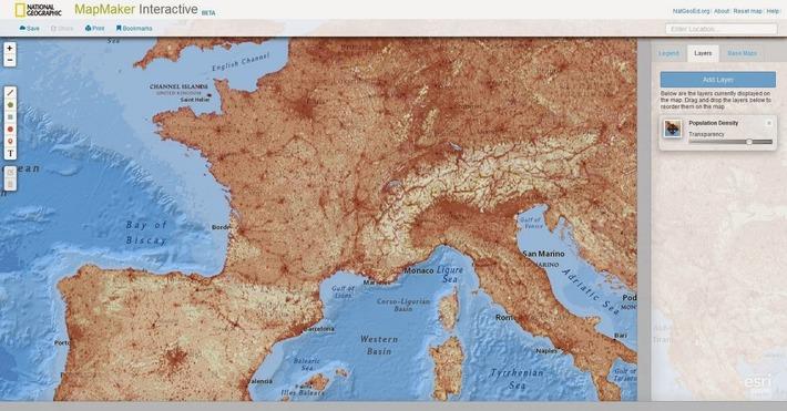 MapMaker Interactive. Créer des cartes en ligne   TIC et TICE mais... en français   Scoop.it