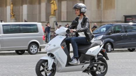 Le scooter en libre-service débarque lundi à Paris | Smart Mobility | Scoop.it
