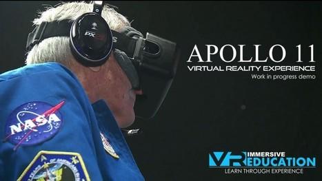 Watch Apollo 16 astronaut General Charlie Duke walk on the moon again inside our Apollo 11 Experience. - Immersive VR Education, Virtual Reality Education, VR, Educational Experiences | Mundos Virtuales, Educacion Conectada y Aprendizaje de Lenguas | Scoop.it