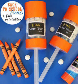 Party Frosting: Back to school party favor ideas and inspiration! | Crafty Kids | Scoop.it