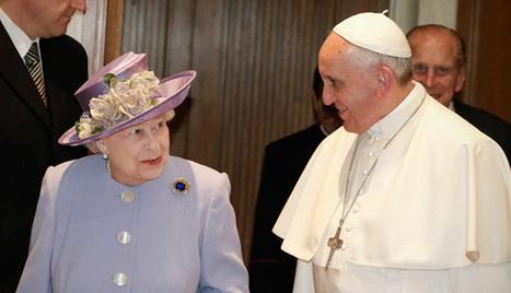 El Papa Francisco e Isabel II: sus gestos mostraron a una reina ... - El Cronista | Comunicaciones y ventas exitosas | Scoop.it