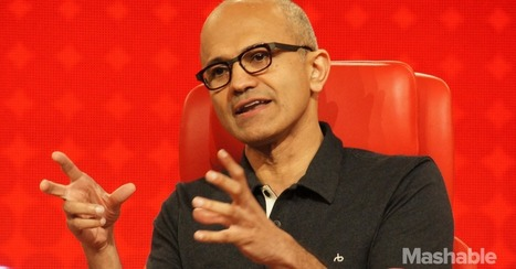Satya Nadella: The View From Microsoft's CEO Seat | The Business Presenter | Scoop.it