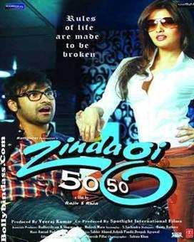 Zindagi 50-50 (2013) First Look Poster Cast Crew   Bollybindass.Com   Bindass Bollywood   Scoop.it