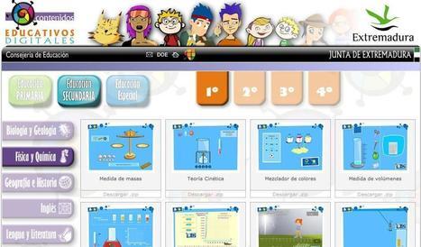 Contenidos Educativos Digitales de Física y Química en Educarex | Educación y Tecnologías | Scoop.it