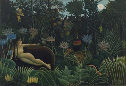 #141 ❘ Le Rêve ❘ 1910❘ Le Douanier Rousseau (1844 - 1910) | # HISTOIRE DES ARTS - UN JOUR, UNE OEUVRE - 2013 | Scoop.it
