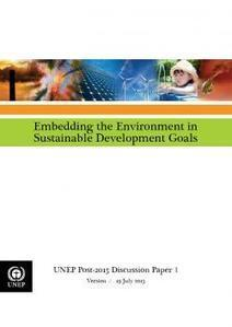 Embedding the Environment in Sustainable Development Goals | NGOs in Human Rights, Peace and Development | Scoop.it
