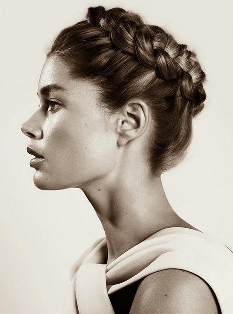 Shopaholic blog de moda: ¿Invitada de boda? Inspiración en 30 peinados   moda   Scoop.it