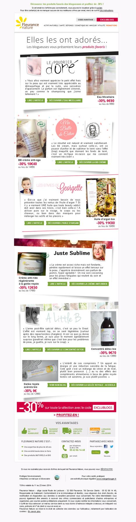 Newsletter Fleurance Nature : Ouvrez, vous aussi vous allez adorer | Revue de Presse Les Envies de Georgette | Scoop.it