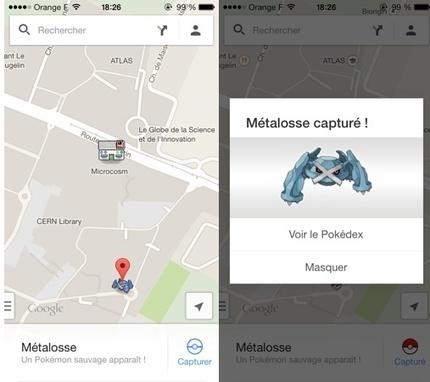 Pour le 1er avril, des Pokemon se glissent dans Google Maps | Cartes et Insolites | Scoop.it