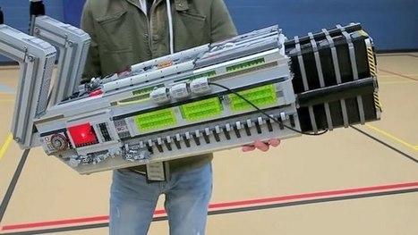 Watch: Badass BFG 9000 from Doom 5,000 LEGO Bricks | WTF Posts | Scoop.it