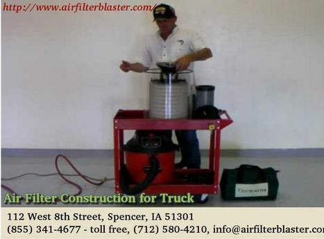 Air Filter Construction | airfilterblaster | Scoop.it